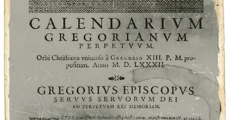 Calendario Gregoriano.Differenze Tra Calendario Gregoriano E Calendario Giuliano