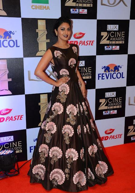 Anushka Ranjan Shines in Resplendent Gown At The Zee Cine Awards 2016