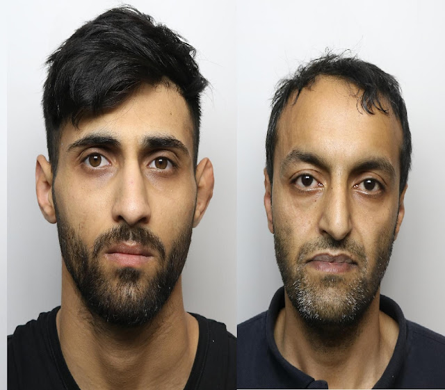 Street dealers Imran Ali, 42, and Mohammed Shaikh, 26, jailed after over 200 wraps of drugs found in 'bulging' underpants