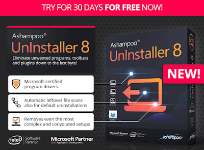 Ashampoo Uninstaller 8 Free Trial Download