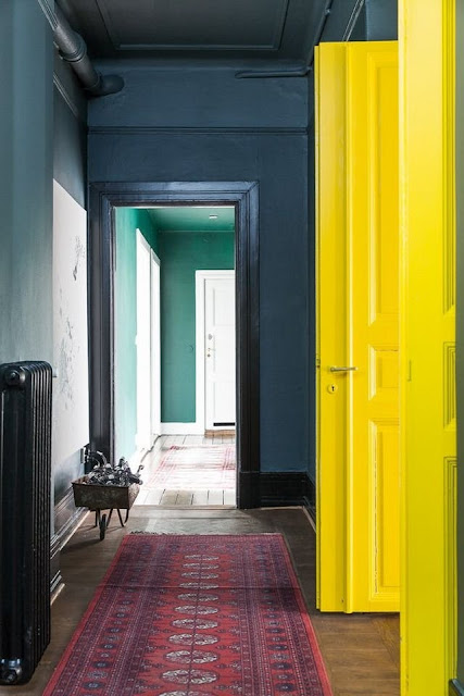 Jewel-toned Interior Paint Colors for a Bold Home