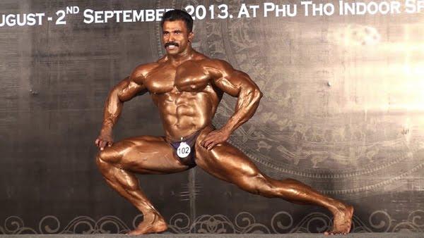 murali kumar Indian bodybuilder