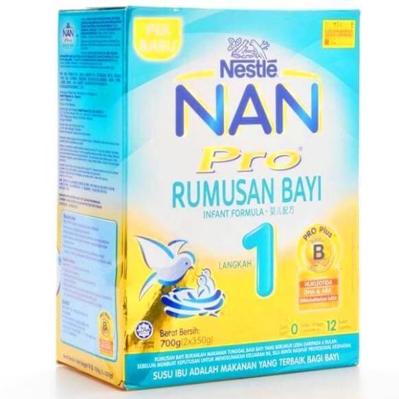 Susu formula Nan Care Step 1