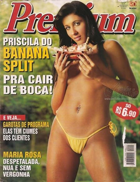 Priscila Carrillo nua