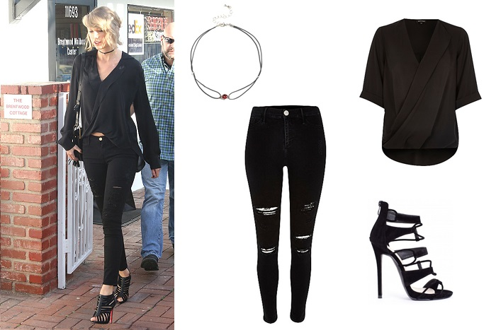 april celeb style; street style; celebrity style; get the look; taylor swift;