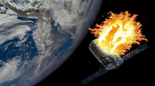 NASA Ambitious Wanted ' Burn ' Space