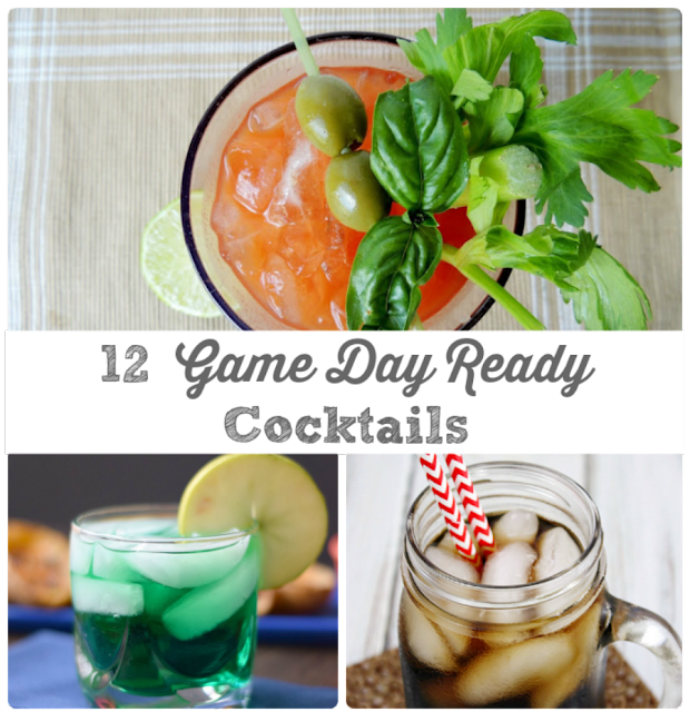 Quench your thirst while watching the big game with these 12 Game Day Ready Cocktails.