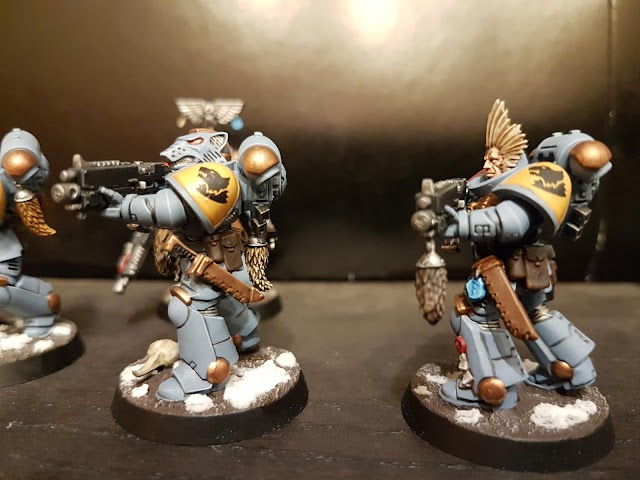 What's On Your Table: Intercessors Space Wolves