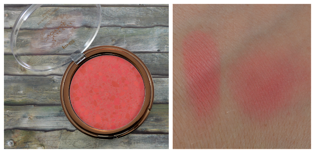 P2 beauty voyage LE beauty mosaic blush 010 dewy glow und Swatch