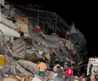 terremoto ecuador fotos