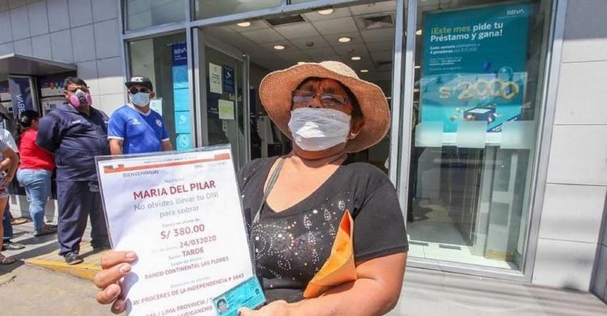 BONOS OFICIALES: Conoce los beneficios económicos otorgados por el Gobierno ante emergencia sanitaria