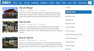 Blog dengan pengunjung terbanyak tertinggi di Indonesia