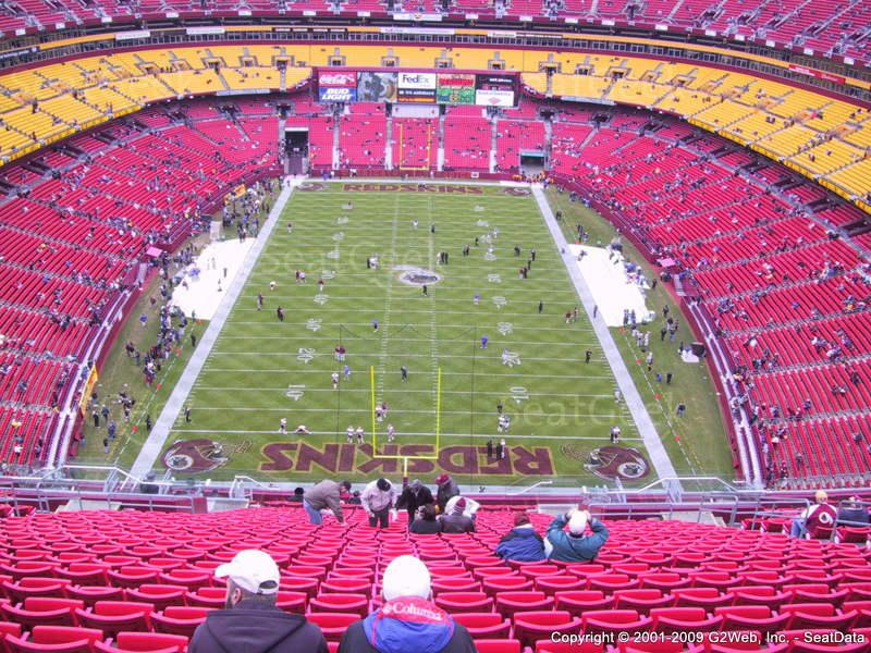 Images for fedex field seating chart - fedex field seating chart