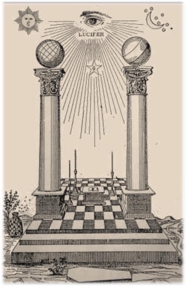 Simbolog as las dos columnas del templo mas nico - Pilares y columnas ...