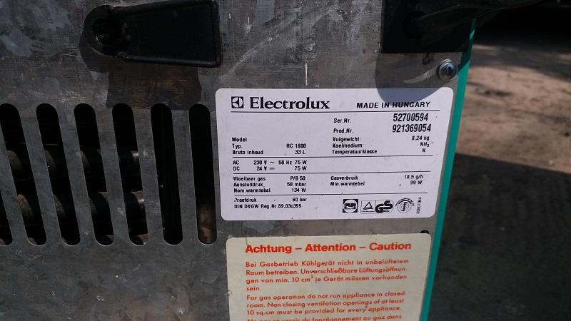 Lada frigorifica eticheta