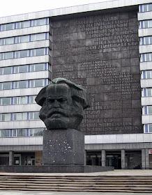 The Karl Marx Memorial in Chemnitz