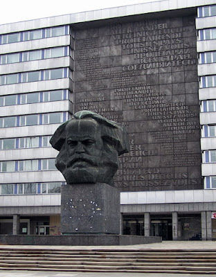 The Karl Marx Memorial in Chemnitz