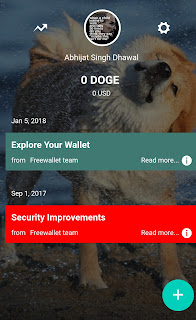 Dogecoin Cryptocurrency wallet verification