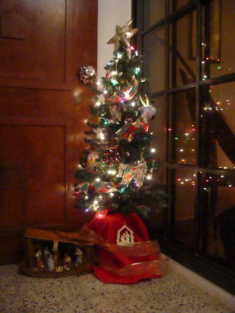 La vida en mi patio for Arbol de navidad pequeno