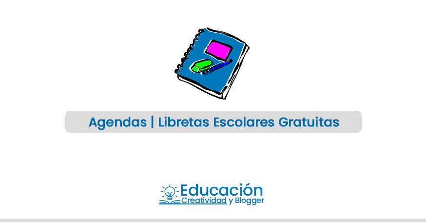 agenda escolares 2019 gratis para imprimir