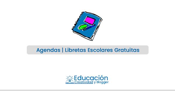 Agendas escolares 2019 para imprimir ▷ 🥇【gratis】