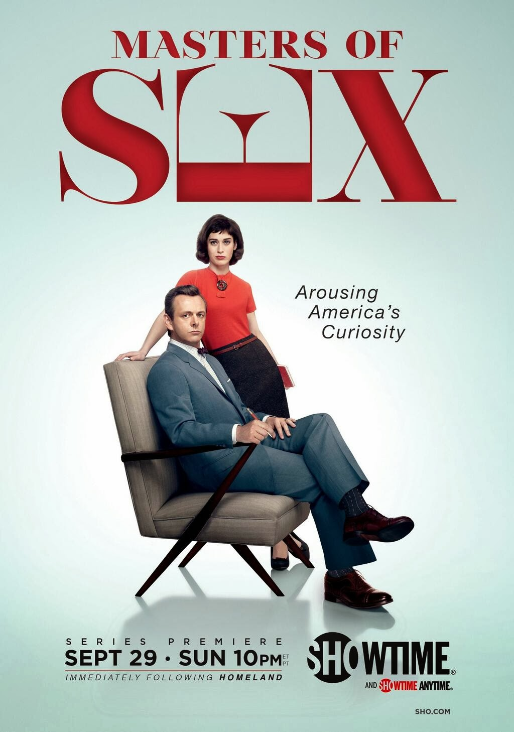Masters of Sex - season 1 poster