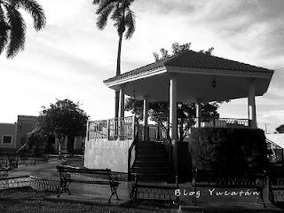 Kiosco Ermita Santa Isabel Merida Mexico