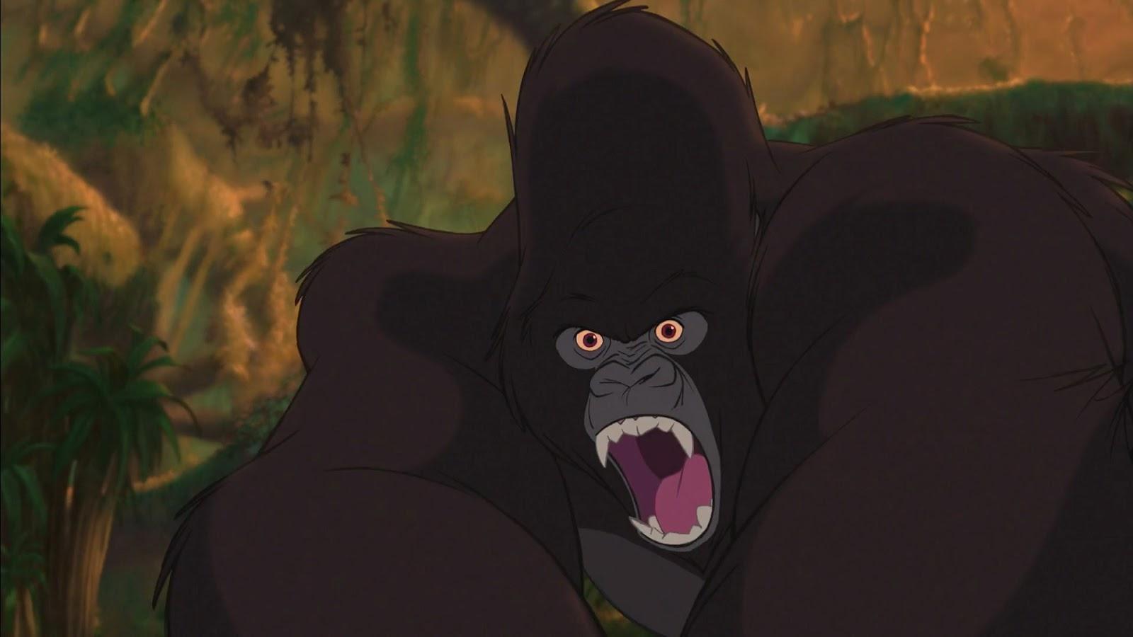 Kerchak Tarzan Angry
