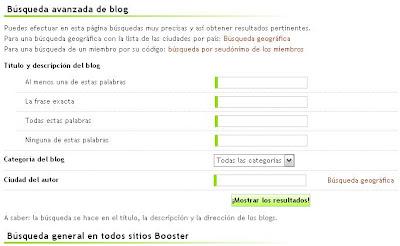 BoosterBlog registrate gratis gana rating calificaciones