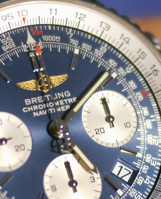 Time to wear Breitling watches