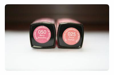 Revlon Lipbutters Berry Smoothie & Peach Parfait