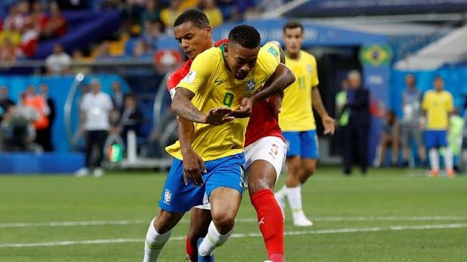 Brasil empata com Suíça em sua estreia na Copa do Mundo