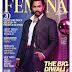 Aamir Khan poses on Femina Magazine