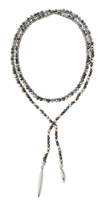 Stella & Dot Zoe Lariat Necklace as seen on Dolores Robinson, For Peete's Sake