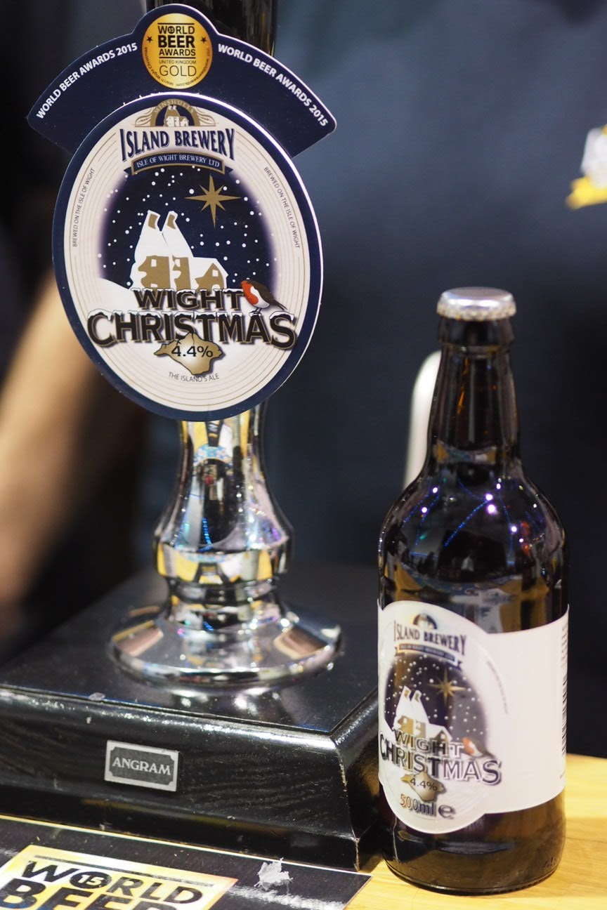 Isle of Wight island brewery Wight Christmas ale