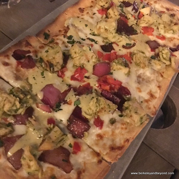 flat bread at Shooters Waterfront in Fort Lauderdale, Florida