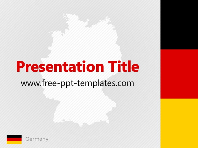 Germany ppt template toneelgroepblik Gallery