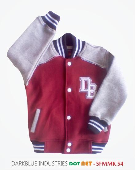 Sweater Anak Baseball Jaket Gaul Bahan Katun Distro Grosir ...