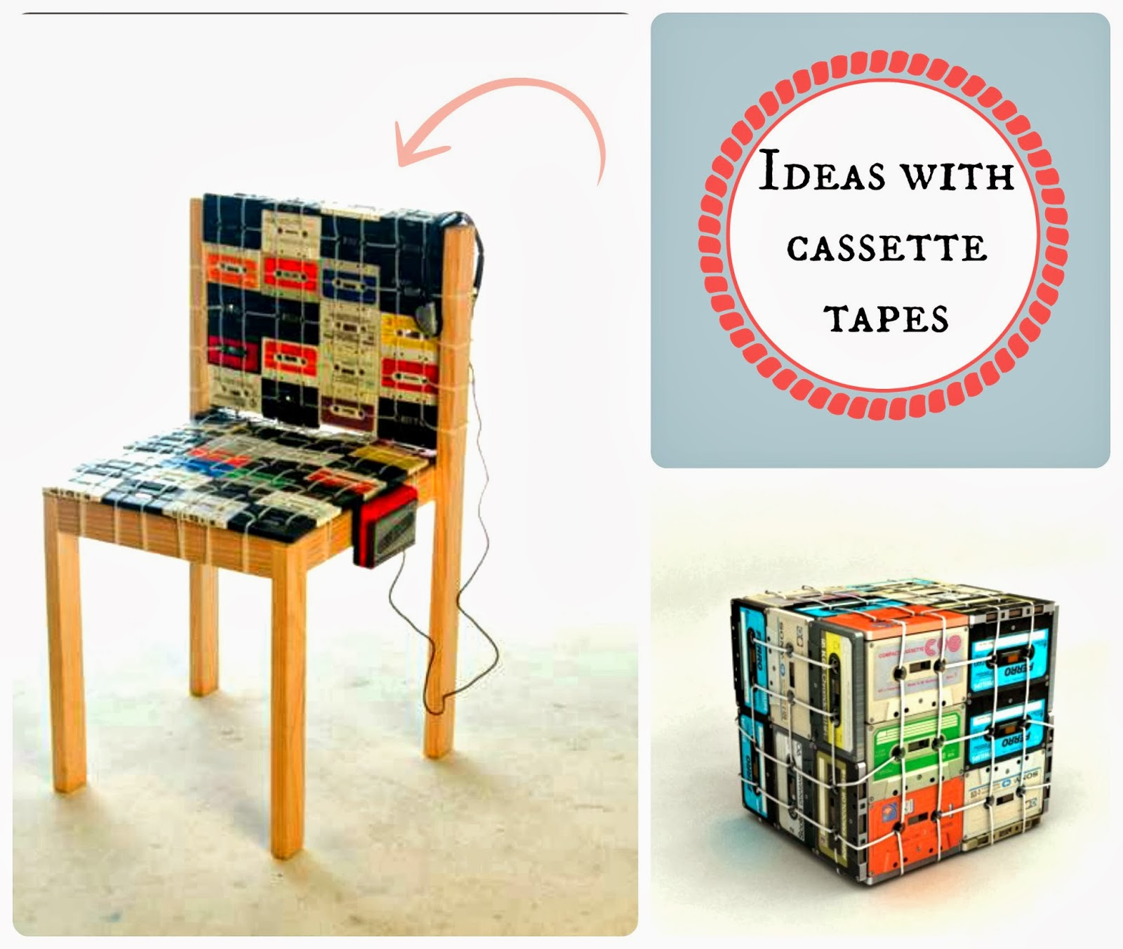 kasety magnetofonowe design