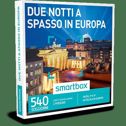 SMARTBOX Cofanetto Regalo Due notti a spasso in Europa €199.90