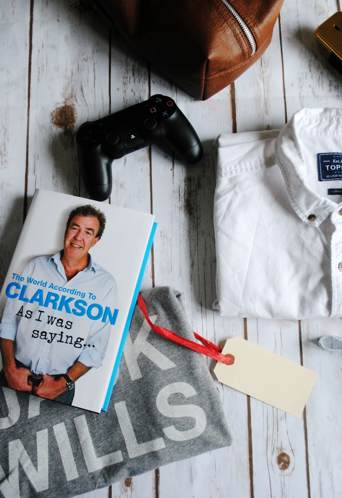 book PlayStation Jeremy Clarkson jack wills primark