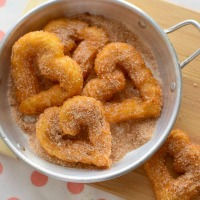 Receta para preparar churros de yuca sin gluten