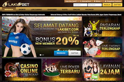 LakiBet Agen Bandar Bola Casino Online Terpercaya Indonesia Situswebsitepoker.com