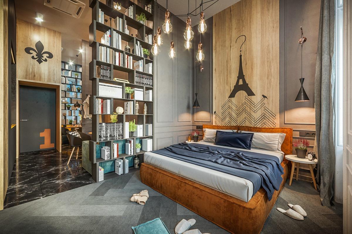 Thiết kế nội thất độc đáo cho chung cư N03T6 Ngoại Giao Đoàn