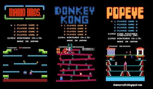 Mario Bros NES klasik