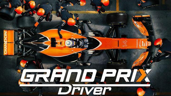 GRAND PRIX Driver sigue al equipo McLaren durante una temporada de F1