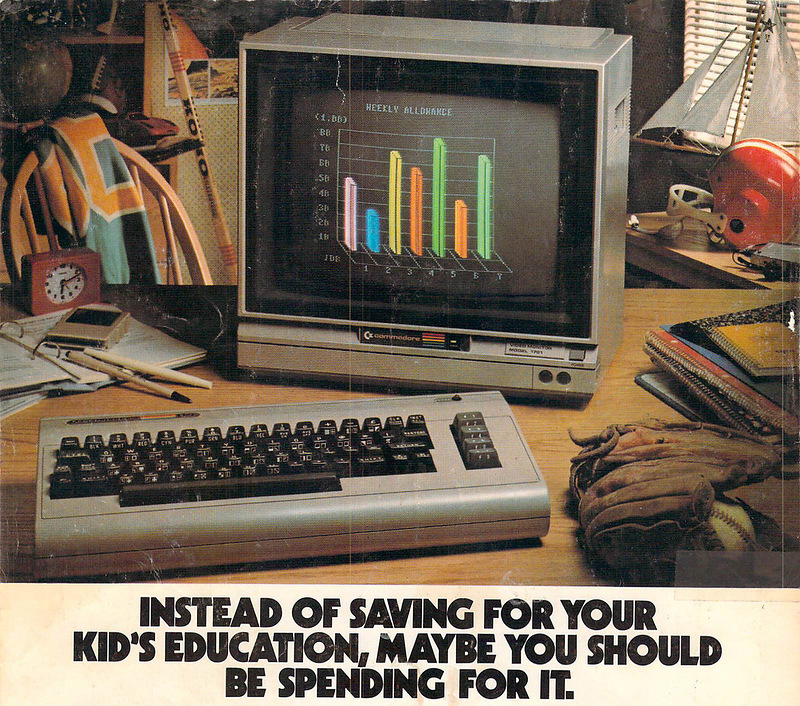 Advertising Of Computers For Kids In The Early 80 S