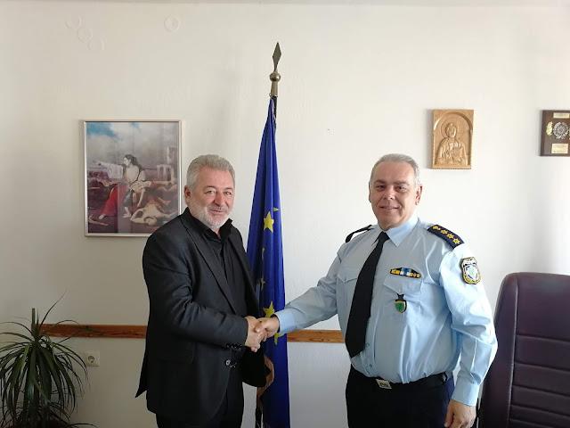 Συνάντηση του Δημάρχου Ηγουμενίτσας με τον Αστυνομικό Διευθυντή Θεσπρωτίας