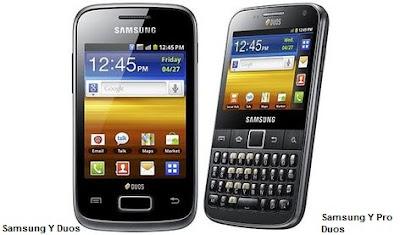 Samsung Y Duos specs