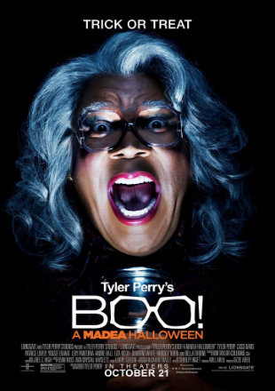 Poster of Boo A Madea Halloween 2016 Full Movie BRRip 720p English 800Mb